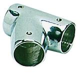 Relingverbindungsstück, Y-Form, 60°, Rohr ø 22mm