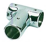Relingverbindungsstück, T-Form, 90°, Rohr ø 22mm