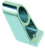 Handlaufstütze, verchromtes Messing, Mittelstück für Rohr ø 22mm