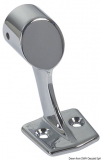 Handlaufstütze, verchromtes Messing, Endstück rechts für Rohr ø 22mm