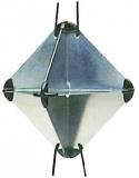 RADAR-Reflektor Maße 210 x 210 x 300 mm