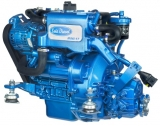 Dieselmotor Sole Mini 17 mit 2 Zylindern 16PS mit Wendegetriebe TMC40 Untersetzung = 2.00 : 1