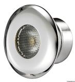 LED-Mikrodeckenleuchte, LED-Farbe blau 1x3 Watt HD