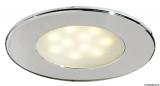 Warmes Licht ATRIA aus poliertem Edelstahl Wasserdicht, IP65.