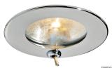 Warmes Licht ATRIA aus Edelstahl mit Halogenlampe mit Schalter