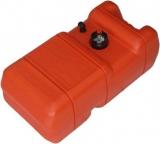 Kraftstofftank aus Kunststoff für 22,7 Liter mit Kraftstoffanzeige
