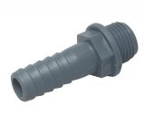 Polypropylen Schlauchanschluss 1 1/2 Zoll auf 50mm, gerade