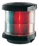 3 Farben Laterne 25W 2 x 112,5° + 135° Hecklicht Schwarzes Gehäuse Mastmontage BSH zugelassen