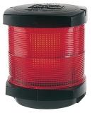 Signal Laterne - Lichtfarbe rot - schwarzes Gehäuse BSH zugelassen