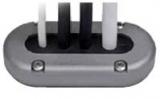Aluminium Ø Kabel bis zum 15 Ø B Stecker Max 18mm