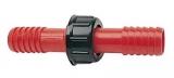 Adaptierbare Schlauchverbinder aus Nylon 25mm Gewinde C
