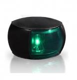 Steuerbordlaterne LED 112,5° Schwarzes Gehäuse BSH zugelassen