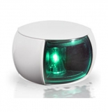 Steuerbordlaterne LED 112,5° weißes Gehäuse BSH zugelassen