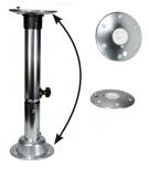 Twist lock Fuß für Tisch aus eloxiertes Aluminium