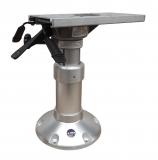 Mainstay Einstellbarer Fuß eloxiertes Aluminium und NIRO 381-508mm, Ø 229mm