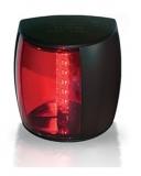 Backbord LED 112,5° Schwarzes Gehäuse BSH Zugelassen