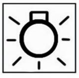 Schaltwippe 25 - Kabinenbeleuchtung