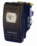 Wasserdichte Wippschalter ON-OFF Typ Schalter 12/24 V (ohne Wippe)