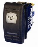 Wasserdichte Wippschalter ON-OFF-ON Typ Schalter 12/24 V (ohne Wippe)
