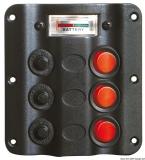 Elektrische Schalttafeln Wave design  Voltmeter12 V automatischen Thermoschmelzsicherungen
