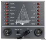 Schaltpaneele mit 14 Stromkreisen Segelboot mit Automatische Sicherungschalter Airpax