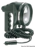 Handscheinwerfer, schwenkbar wasserdicht vollständig aus Neopren schwarz 12V