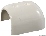 Endstück weißes Modell für die PVC-Einlage 55mm