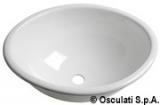 Ovale Spüle aus Plexiglas Maße 390x310mm