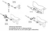 Teleflex Bootssteuerung Safe-T QC Steuerseele 14 Fuß 427cm