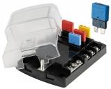 Sicherungshalter für wiederverwendbare Flachsteck-Sicherungen  6 Sicherung