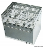 Backofen Version Topline von Techimpex 3 Flammen