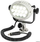 LED-Suchscheinwerfer NIGHT EYE mit Halteplatte für die Aufbaumontage 12/24V