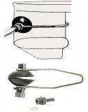 Motor Flusher A Mit Universal-Schnappanschluss  für alle Heckantriebe von Volvo  Penta