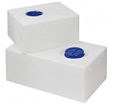 Fester Trinkwassertank aus Polyethylen 80 Liter mit RINA-Zulassung