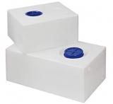 Fester Trinkwassertank aus Polyethylen 130 Liter mit RINA-Zulassung
