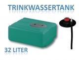 32 Liter Tank aus Polyethylen