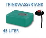45 Liter Tank aus Polyethylen