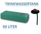 60 Liter Tank aus Polyethylen