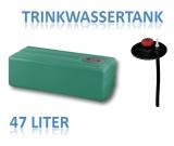 47 Liter Tank aus Polyethylen