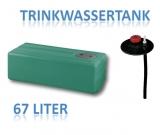 67 Liter Tank aus Polyethylen