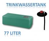 77 Liter Tank aus Polyethylen
