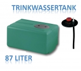 87 Liter Tank aus Polyethylen