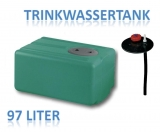 97 Liter Tank aus Polyethylen