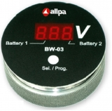 BW-03 Batterie Kontrollmonitor - Rot