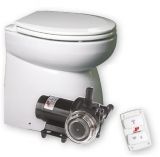 Silent Premium-Electric Toilette von Johnson Niedriges Modell, 12V