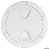 Inspektionsdeckel, elegantes und funktionelles Design Außen 205mm weiß