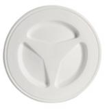 Inspektionsdeckel aus Polypropylen mit Bajonett-Schraubverschluss Ø Außen 135mm weiß