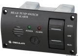 Schalttafel für Bilgenpumpen optischer und akustischer Alarm