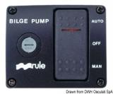 Schalter für Bilgenpumpen Typ DE LUXE 24V