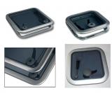 Decks- Luke Opal Goiot  Modell 00  Oberfläche: Satin  Maße: 265 x 265 mm